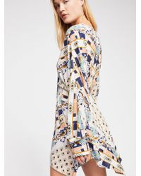 Free People - Ride To The Sunset Printed Tunic - Lyst