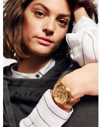 Free People - Bullet Chrono Crystal Watch - Lyst