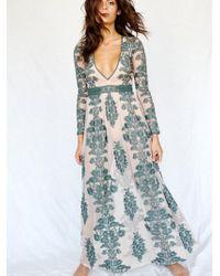 Free People - Temecula Maxi Dress - Lyst