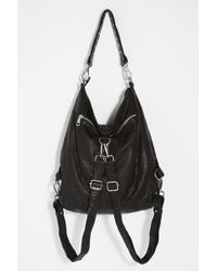 Free People - Chelsea Convertible Leather Backpack By Nunoo - Lyst