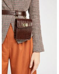 Free People - Crocodile Belt Bag - Lyst