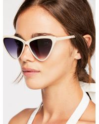 Free People - Creamsicle Cat Eye Sunglasses - Lyst