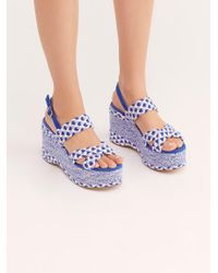 Free People - Dolce Platform Wedge - Lyst