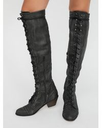 Free People - Joe Lace Up Boot - Lyst