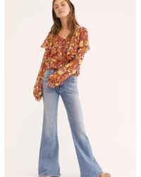 Free People - Citizens Of Humanity Chole Flare Jeans - Lyst
