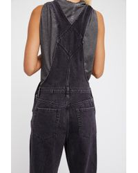Free People - The Boyfriend Dungaree By We The Free - Lyst