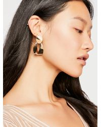 Free People - Spring Hoop Earrings By 8 Other Reasons - Lyst