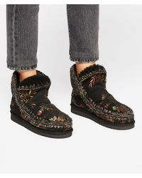 Free People - Mou Meadow Stars Boot - Lyst