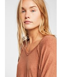 Free People - Take It Off Pullover - Lyst