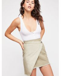 Free People - Oneteaspoon Wild Thing Skirt - Lyst
