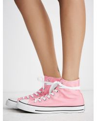 Free People - Charlie Hi Top Converse - Lyst