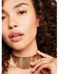 Free People - Cleopatra Collar Necklace - Lyst
