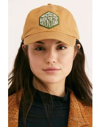 Free People - Made For The Mountains Baseball Hat By United By Blue - Lyst