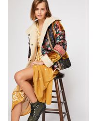 Free People - Out With A Bang Coat - Lyst