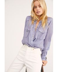 Free People - We The Free Phoenix Shirt - Lyst