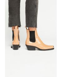 Free People - Brisbane Chelsea Boot By Jeffrey Campbell - Lyst