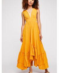 Free People - Sunday Sunshine Maxi Dress - Lyst