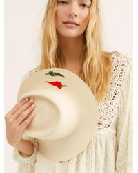 Free People - So Hot Straw Hat - Lyst