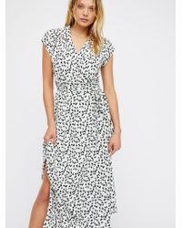 Free People - So Fetch Midi Dress - Lyst