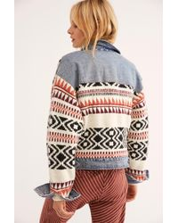 Free People - Lakeside Denim Jacket - Lyst