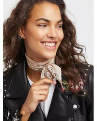 Free People - Accessories That's A Wrap Printed Neck Tie - Lyst