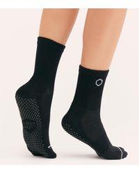 Free People - Lucky Honey Dad Grip Socks - Lyst
