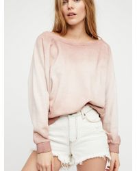 Free People - Slouchy Pullover - Lyst