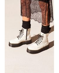 Free People - Dr. Martens Jadon Lace-up Boot - Lyst