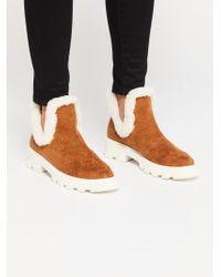 Free People - Vegan Astoria Ankle Boot By Farylrobin - Lyst