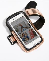 Free People - Tag Along Running Armband - Lyst