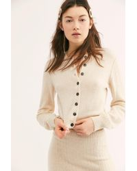 Free People - Everyday Cashmere Cardi - Lyst