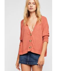 Free People - We The Free Grove Cardi - Lyst