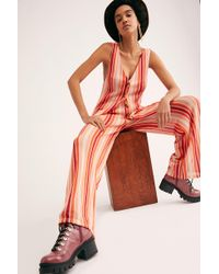 Free People - Bridget Stripe Co-ord - Lyst