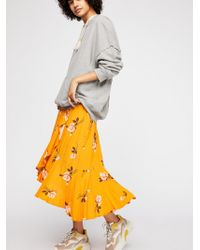 Free People - Heart Of The City Wrap Skirt - Lyst
