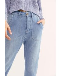 Free People - Skye Relaxed Boyfriend Jeans By We The Free - Lyst