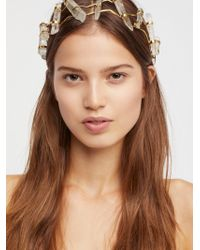 Free People - Brittany Crystal Crown - Lyst