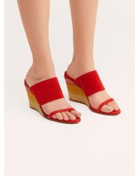 94570ef700bf Free People - Glorieta Wedge By Fp Collection - Lyst