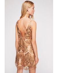 4abdc683c07d Free People Night Shimmers Mini Dress - Lyst