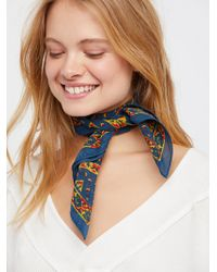 Free People - Songbird Printed Bandana - Lyst