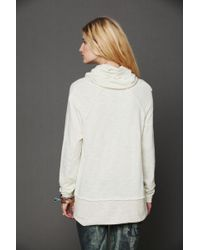 3123b00956 Free People World Traveler Pull Over in Red - Lyst
