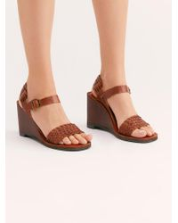 Free People - Peggy Wedge By Jeffrey Campbell - Lyst