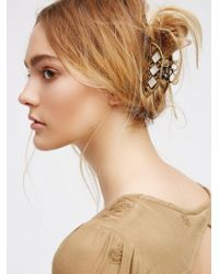 Free People - Pearl Inset Claw - Lyst