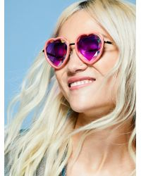 Free People - Sweet Heart Kaleidoscope Glasses - Lyst