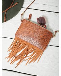 Free People - Womens Tooled Wallet - Lyst