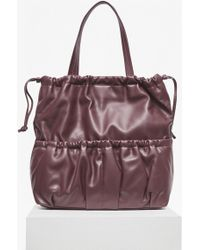 French Connection - Soft Drawstring Tote Bag - Lyst
