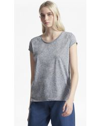 French Connection - Hetty Marl T-shirt - Lyst