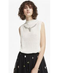 French Connection - Mathilde Knit High Neck Jumper - Lyst