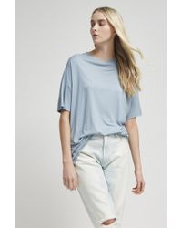 French Connection   Viscose Crew Neck Top   Lyst