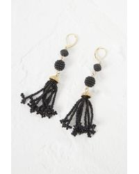 French Connection - Geo Resin Bead Earrings - Lyst
