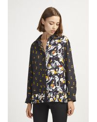 French Connection - Aventine Light Pleated Shirt - Lyst